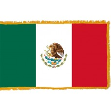 Mexico Flag Indoor Nylon