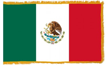 Mexico Flag Indoor Nylon