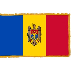Moldova Flag Indoor Nylon