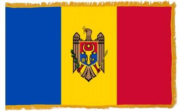 Moldova Flag Indoor Nylon