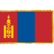 Mongolia Flag Indoor Nylon
