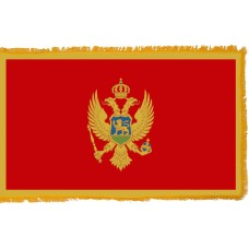 Montenegro Flag Indoor Nylon