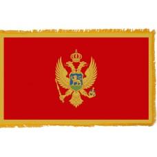 Montenegro Flag Indoor Nylon