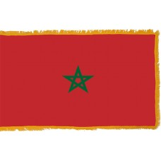 Morocco Flag Indoor Nylon