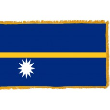 Nauru Flag Indoor Nylon