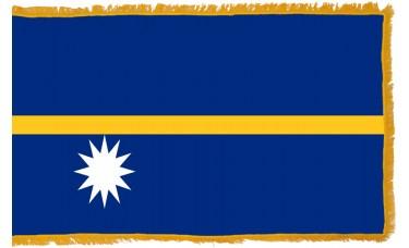 Nauru Flag Indoor Nylon