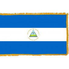 Nicaragua Flag Indoor Nylon