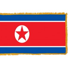 North Korea Flag Indoor Nylon