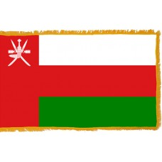 Oman Flag Indoor Nylon