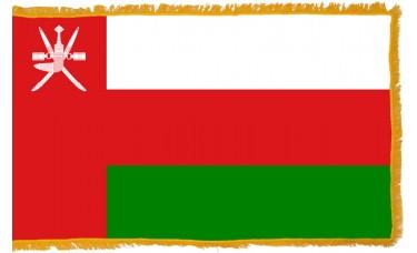 Oman Flag Indoor Nylon