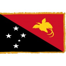 Papua New Guinea Flag Indoor Nylon