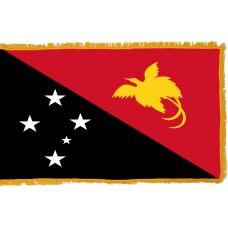Papua New Guinea Flag Indoor Nylon