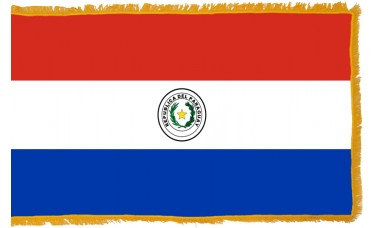 Paraguay Flag Indoor Nylon