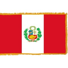 Peru Flag Indoor Nylon