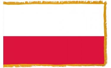 Poland Flag Indoor Nylon