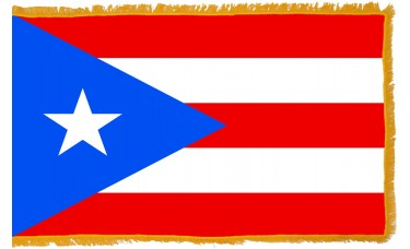 Puerto Rico Flag Indoor Nylon