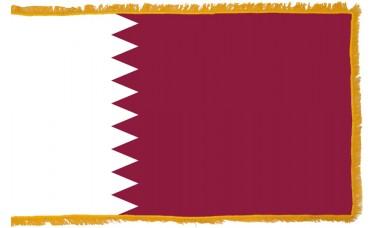 Qatar Flag Indoor Nylon