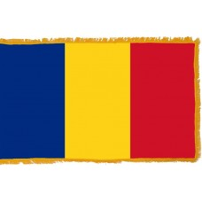 Romania Flag Indoor Nylon