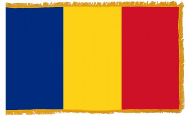 Romania Flag Indoor Nylon