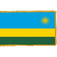 Rwanda Flag Indoor Nylon