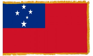 Samoa Flag Indoor Nylon