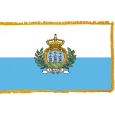San Marino Flag Indoor Nylon