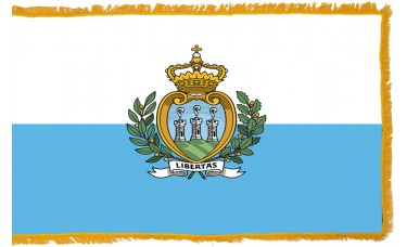 San Marino Flag Indoor Nylon
