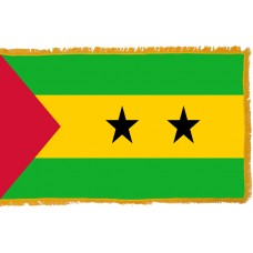 Sao Tome & Principe Flag Indoor Nylon