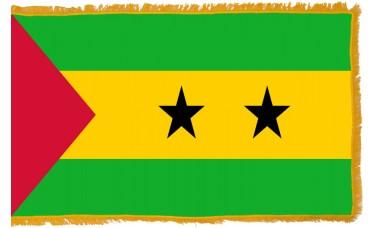 Sao Tome & Principe Flag Indoor Nylon