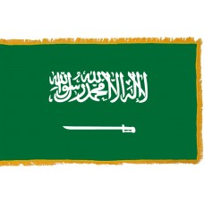 Saudi Arabia Flag Indoor Nylon