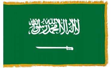 Saudi Arabia Flag Indoor Nylon