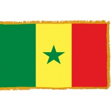 Senegal Flag Indoor Nylon