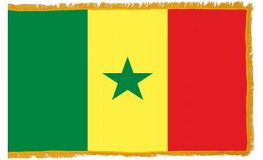 Senegal Flag Indoor Nylon