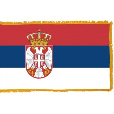Serbia Flag Indoor Nylon