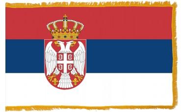 Serbia Flag Indoor Nylon
