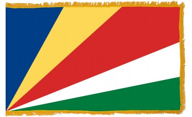 Seychelles Flag Indoor Nylon