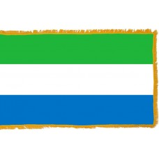 Sierra Leone Flag Indoor Nylon