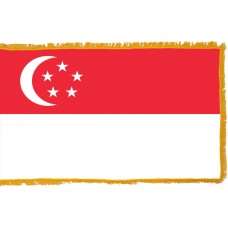 Singapore Flag Indoor Nylon