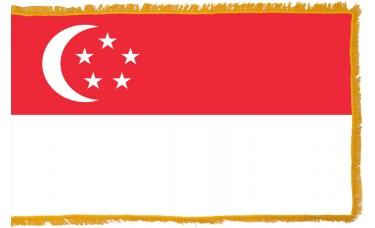 Singapore Flag Indoor Nylon