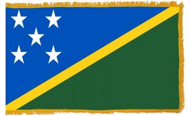 Solomon Islands Flag Indoor Nylon