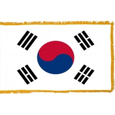 South Korea Flag Indoor Nylon