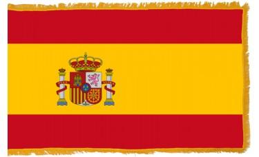 Spain Flag Indoor Nylon