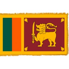 Sri Lanka Flag Indoor Nylon