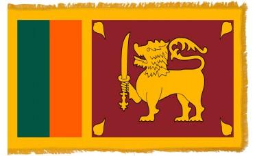 Sri Lanka Flag Indoor Nylon