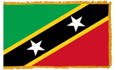 St. Kitts-Nevis Flag Indoor Nylon