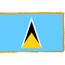 St. Lucia Flag Indoor Nylon