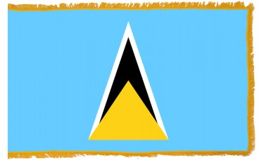 St. Lucia Flag Indoor Nylon