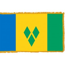 St. Vincent & Grenadines Flag Indoor Nylon