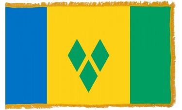 St. Vincent & Grenadines Flag Indoor Nylon