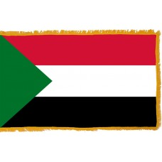 Sudan Flag Indoor Nylon